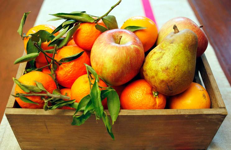 Сохраняем фрукты