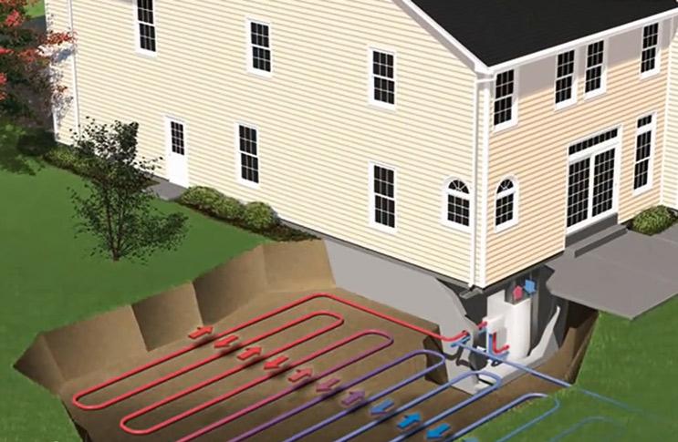 Геотермальное отопление и принцип его работы